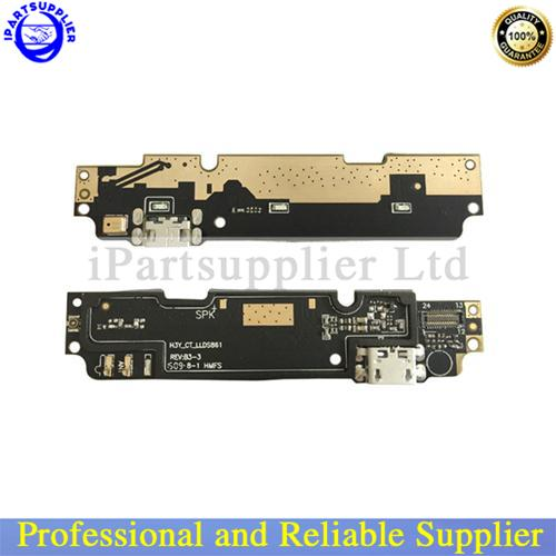 100% Original Parts for Xiaomi Redmi Note 2 Prime USB Dock Charging Port + Mic Microphone Module Board Replacement