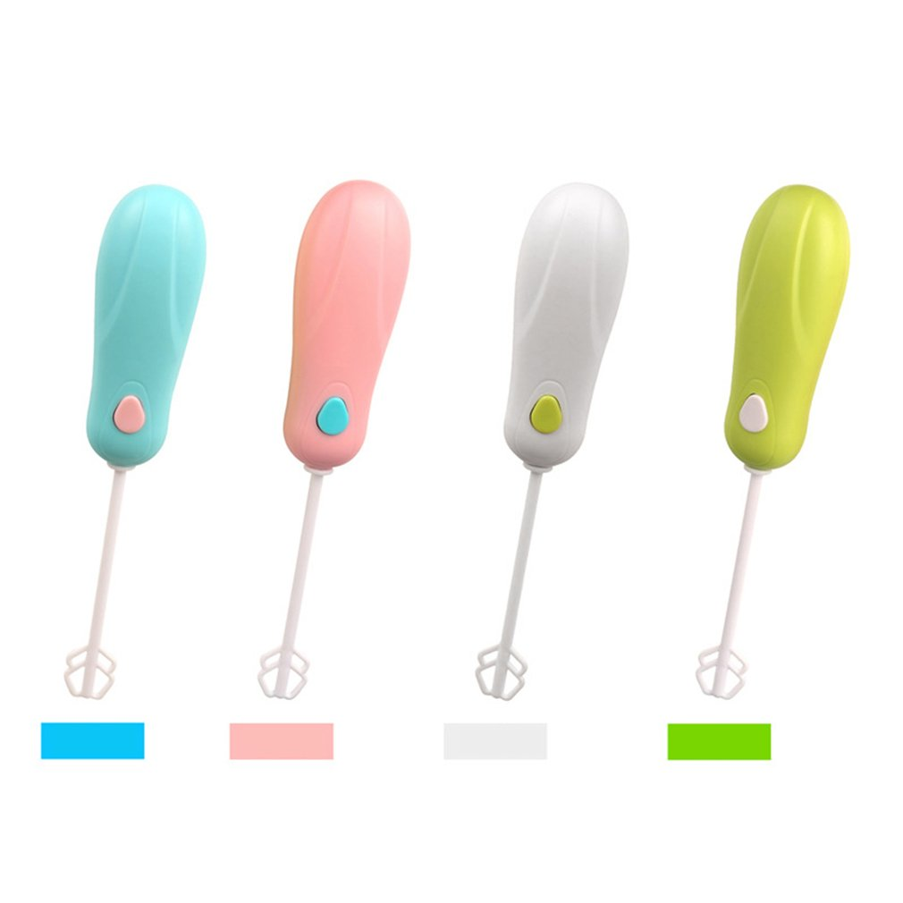 Mini Handheld Powder Blender Electric Hot Drinks Portable Egg Milk Frother Foamer Whisk Mixer Stirrer Household Kitchen Tools jiqi household electric milk foam bubble maker fancy coffee milk frother foamer diy egg cream mixer mini automatic blender whisk