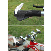Lockable Bicycle Grips TPR Rubber Integrated MTB Cycling Hand  Rest Mountain Bike Handlebar Casing Sheath