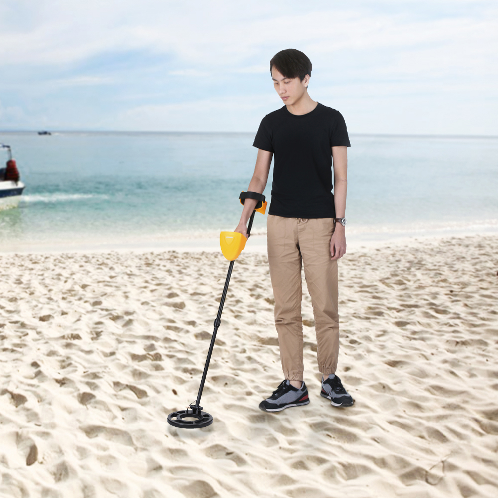High Sensitivity Underground Metal Detector Practical Gold Digger Fun To Findcoins At The Beach Treasure Hunter Tracker Seeker Nugget Finder Scanner In Industrial