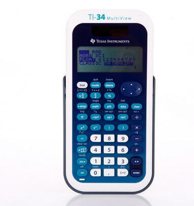 2016 Одна деталь Техас Инструменты ti 34 MultiView студент Тесты экзамен посвящен научный калькулятор