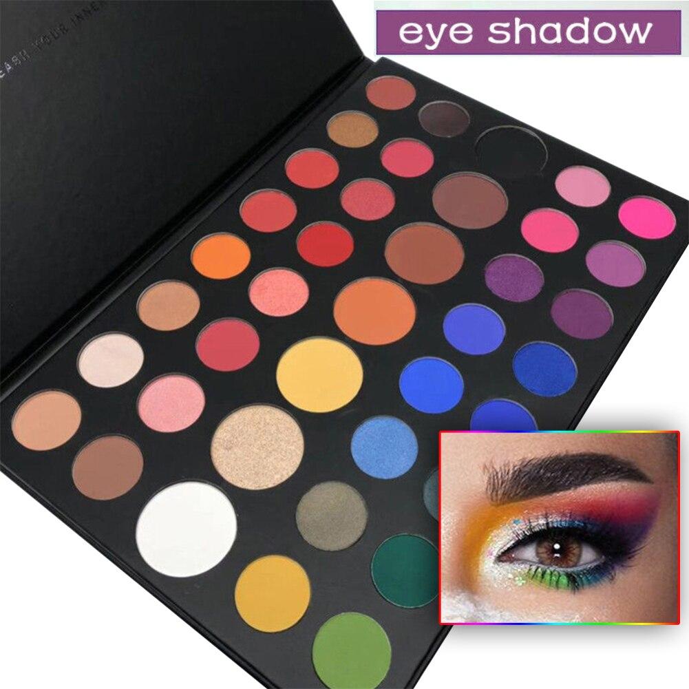 Navidad 39 Color paleta de sombra de ojos Natural nacarado de sombra de ojos mate belleza maquillaje cosmético maquillaje regalo de Navidad