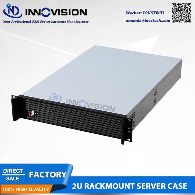 Elegancka obudowa serwerowa do montażu w szafie rack 2U RC2650L L = - Komputery przemysłowe i akcesoria - Zdjęcie 4