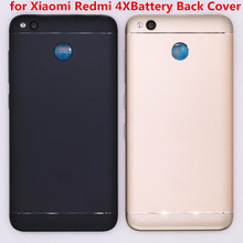 dd4283194ae Regalo + para la carcasa media Xiaomi Redmi 4X + para la cubierta trasera de  la batería Xiaomi Redmi 4X piezas de repuesto de la.