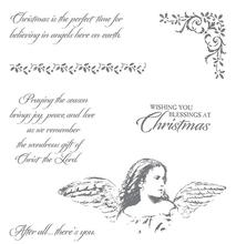 Angel Clear Stamp For Scrapbooking Transparent Rubber