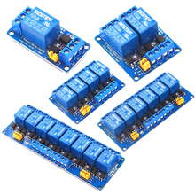 цена на 3V 3.3V 1/2/4/6/8 Channel Relay Module High and low Level Trigger Dual Optocoupler Isolation 3.3V Relay Module