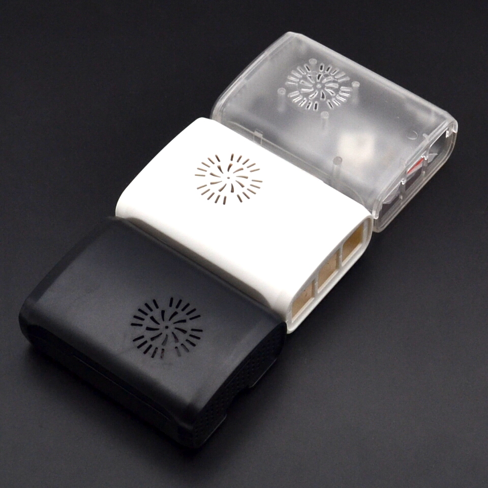 Raspberry Case Cover Shell Enclosure Housing ABS Plastic Box For  Raspberry PI 3 Model B+