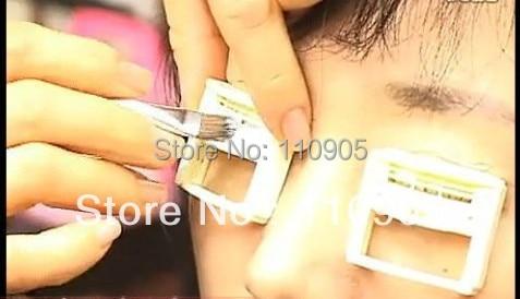 DIY Hot Eyelash Device  Hot Eyelash Curler Eyelashes Rod/Doll Eyelash Perm Wave 1 pair/lot free shipping super eye lash curling perming curler rod eye eyelash perm eyelash wave lotion last up to 3 months