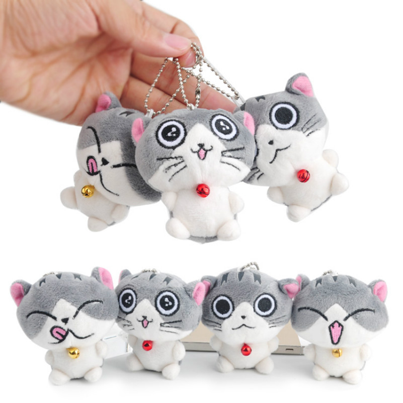 plush cat couple pendant small toys packet bag Car mini ornaments for kids gift люстра fire small ornaments