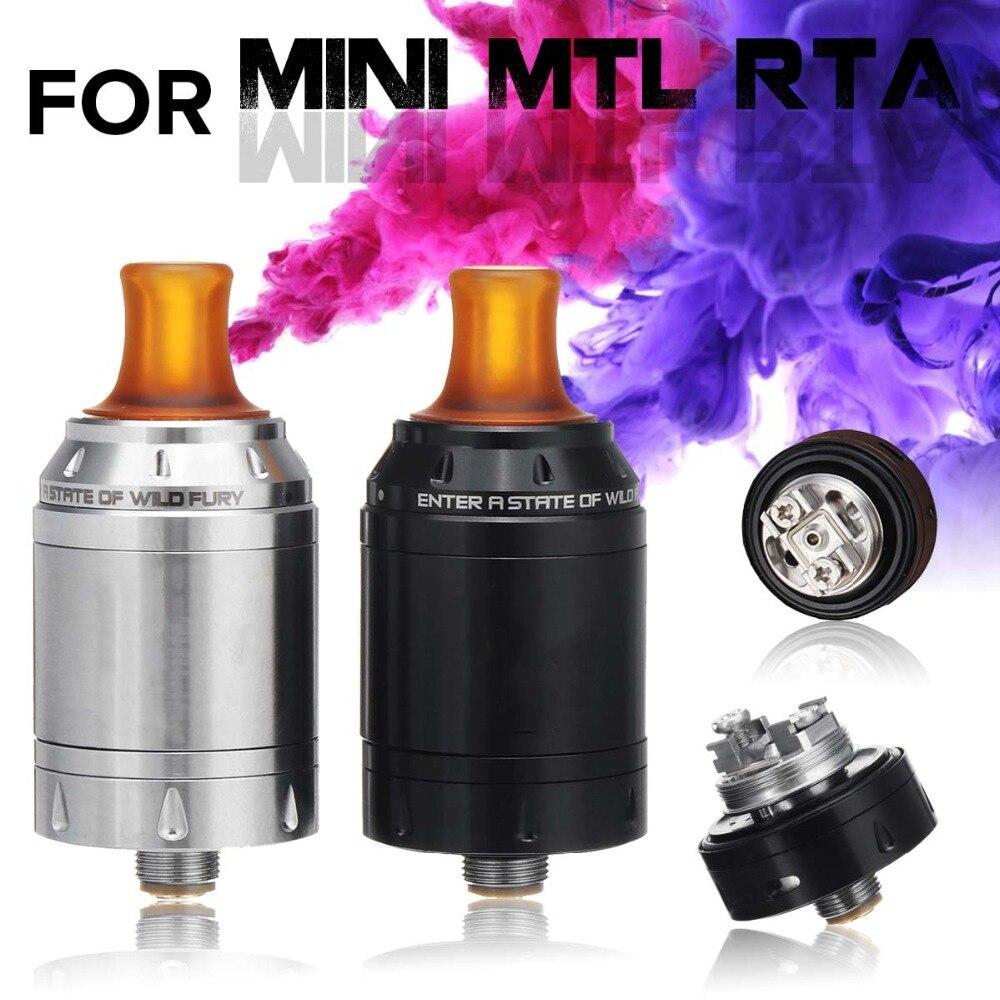 2 ml 22mm Sigaretta Elettronica Atomizzatore Per BERSERKER MINI MTL RTA 510 Filo In Acciaio Inox 304