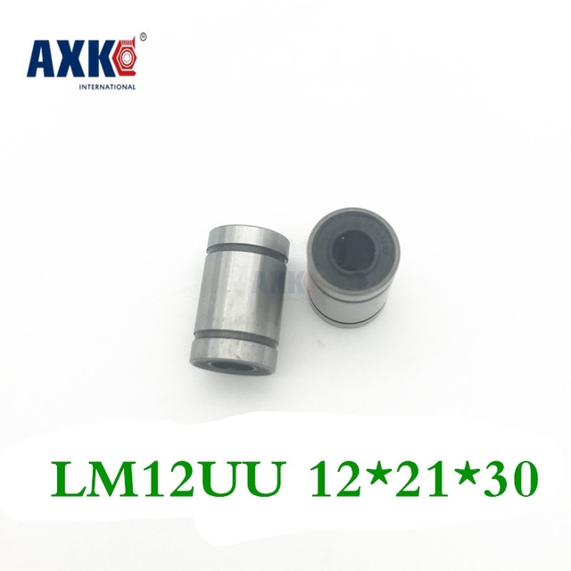 Hot Sale 2pc Lm12uu Linear Bushing 12mm Cnc Linear Bearings