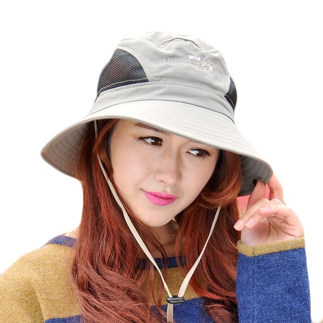 4e99ca78a US $6.31 20% OFF|Summer Sun Hat For Women Men Large Brim Floppy Spring  Cotton Bucket Hats Female Beach Foldable Visor UV Caps Casual Basin Cap-in  Sun ...