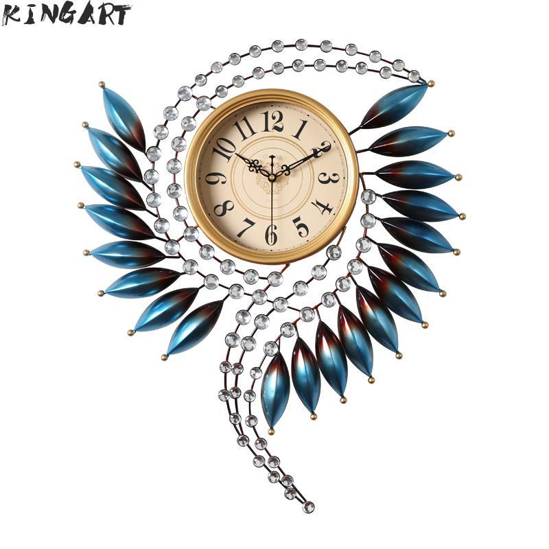 3d grande horloge murale Design moderne grande montre murale salon ornement mural grande horloge de luxe pour décor à la maison en métal Art horloge 88 5