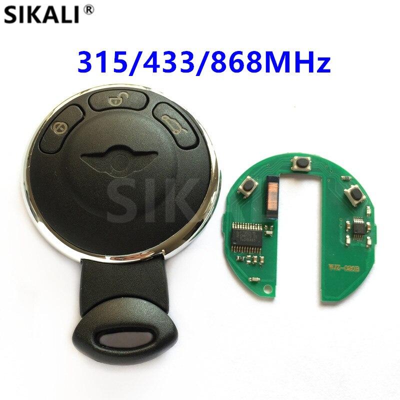 Intelligenter Schlüssel für BMW/MINI COOPER S ONE D CLUBMAN RYMAN CABRIO Autofernschlüssel 315 MHz/315LP/433 MHz/868 MHz ID46 Chip