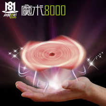 Magic Floating Flying Cards Magic Tricks Close-up Rotary Card Toys for Children Profesional Magic Props