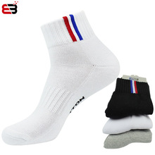 NANCY TINO  Men Outdoor Sports Basketball Socks Man Cycling Thicker Towel Bottom Non-slip Male Compression Athletic