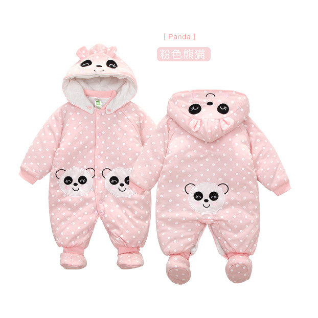 Baby Clothes Baby Rompers Winter Christmas costumes for boys Warm Long Cartoon newborn Overalls Kid Jumpsuit Children Outerwear newborn baby rompers baby clothing 100% cotton infant jumpsuit ropa bebe long sleeve girl boys rompers costumes baby romper
