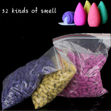 50g/300g/500g/800g Natural Reflux Tower Incense Indian Smoke Cones Backflow Bullet G