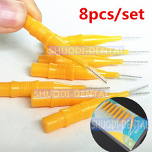 32 pcs Dental Teeth Brush Floss Soft Interdental Toothpick Healthy for Cleaning Oral Care