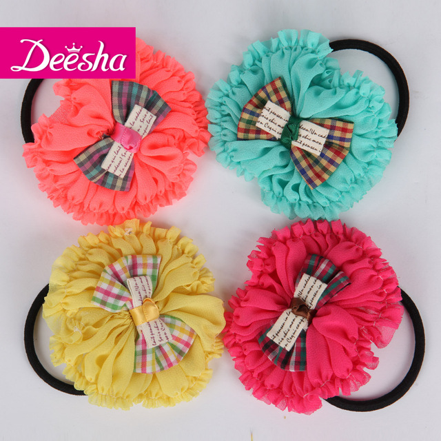 New arrival DEESHA child hair accessory princess female child hair accessory headband beautiful bow headband 1350105