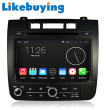 Likebuying  Car 2 Din 1024*600 16G DVD GPS Radio Stereo Navigator Android 4.4.4 QUAD CORE for VW TOUAREG