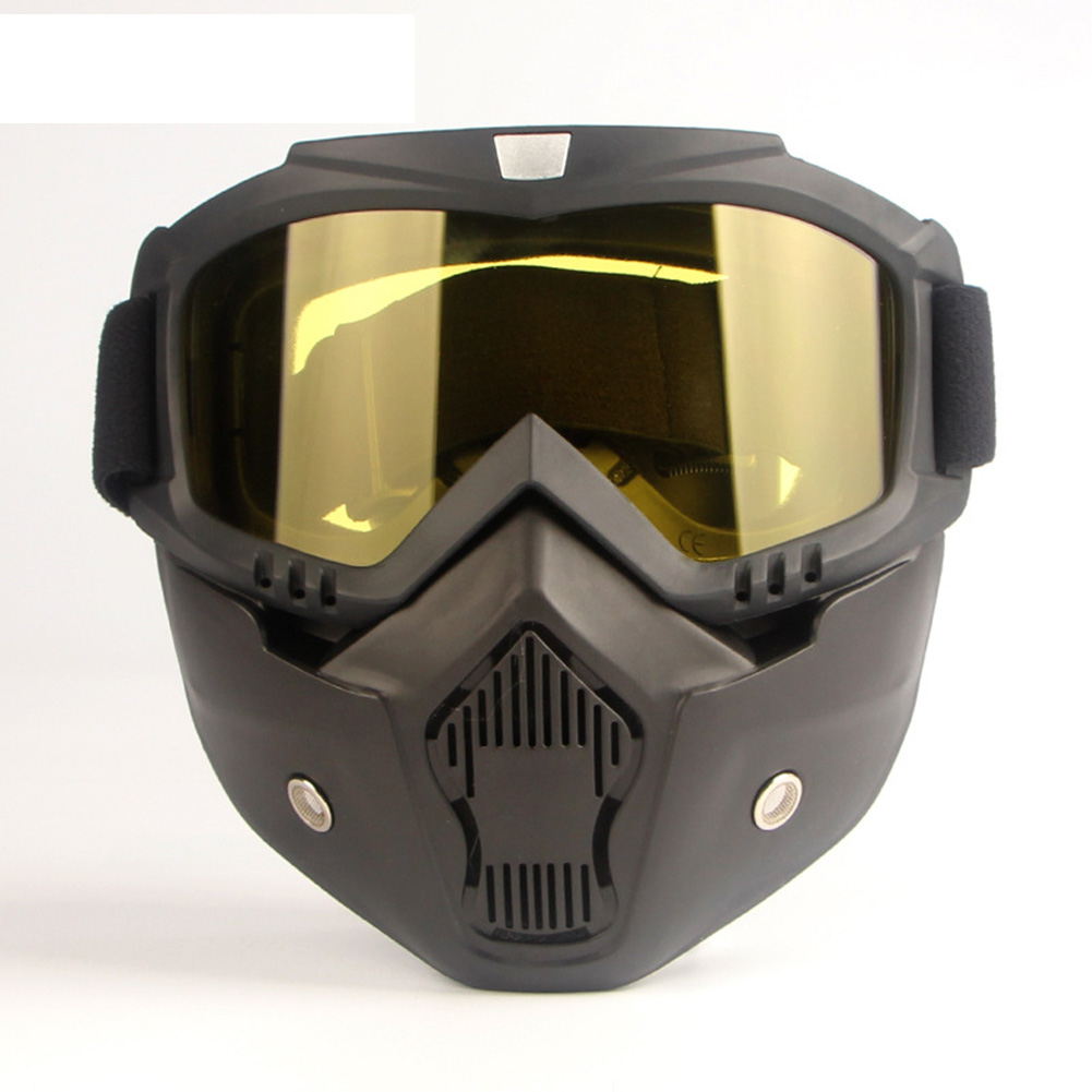 Hot Sale Protective Face Mask Helmet Filter Goggles Eyewear Workplace Safety Supplies Casco Seguridad Trabajo Maska Ochronna