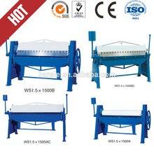 Professional manufacturer high quality sheet manual bending machine