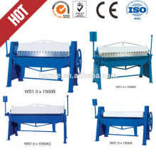 Professional manufacturer high quality sheet manual bending machine