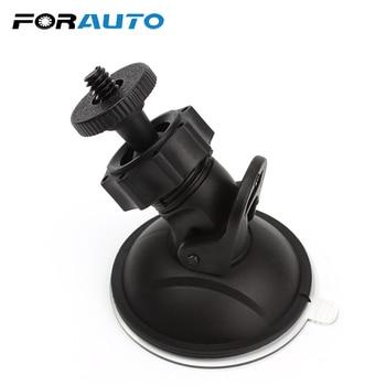 FORAUTO Car DVR Holder DV GPS Camera Stand Holder Mini Suction Cup Mount Tripod Holder Car Mount Holder Mobile