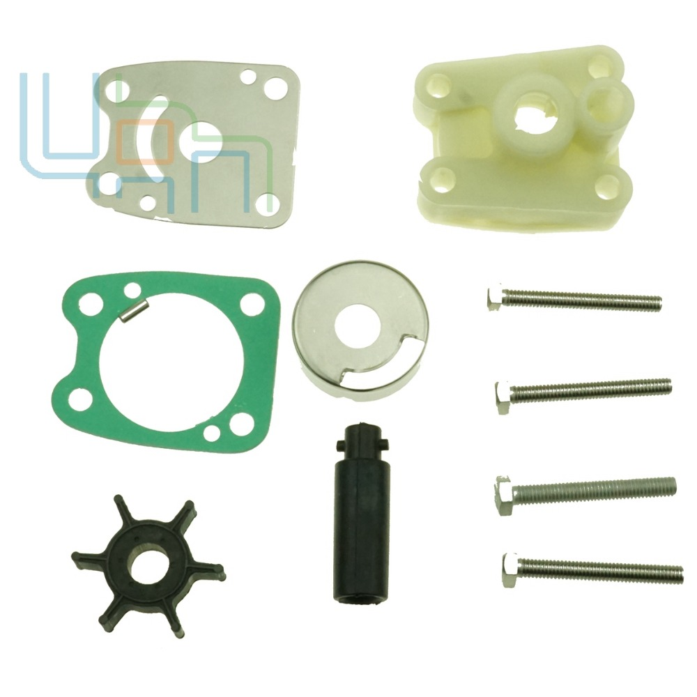 New Outboard Water Pump Repair Kit For Yamaha 6E0-W0078-A3-00 6E0-W0078 4A&5C 4/5HP