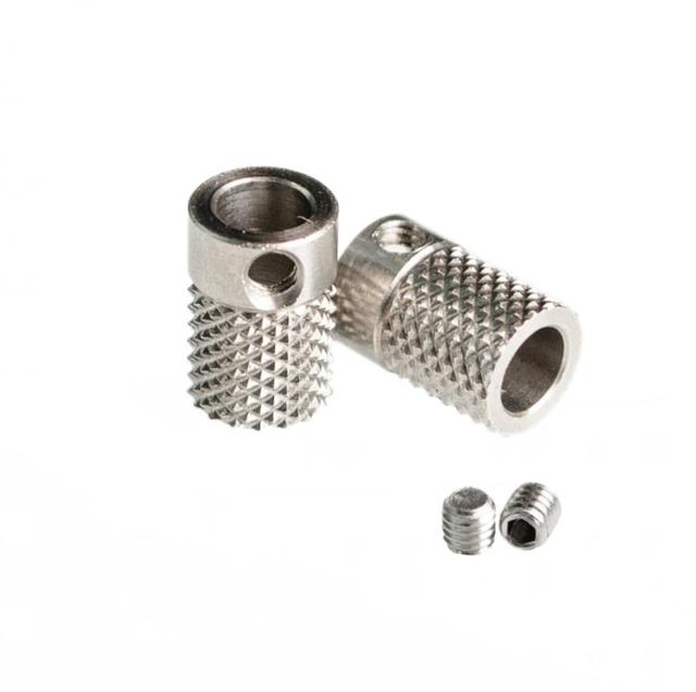 DIY Ultimaker 2 UM2 Feeder Knurled Wheel Extruder Drive Gear Stainless Steel High Quality For 3 D-printer parts