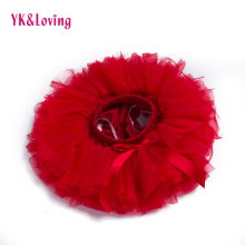 Детские шаровары для девочки, двухсторонние кружевные розовые и красные шорты, маленькие штаны с эластичной резинкой на талии для малышей, шорты с оборками для новорожденных, YK& Loving