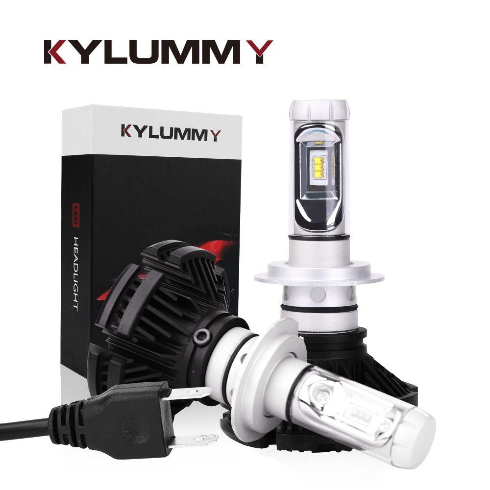 LED Car lights H1 H3 H4 H7 H13 9004 9005 9006 9007 Automobile Headlight 12V 50W 6000Lm 6500K H8/H9/H11 Front Fog Lamps Bulbs