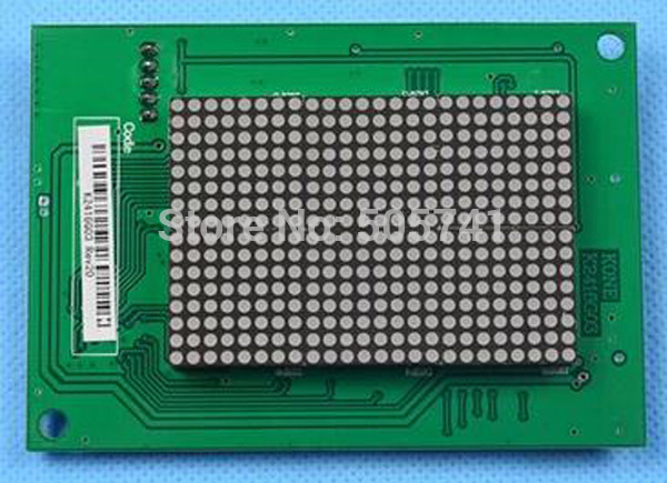 Electronic Accessories & Supplies Back To Search Resultselectronic Components & Supplies Discreet Kone Elevator Display Board K2416g03