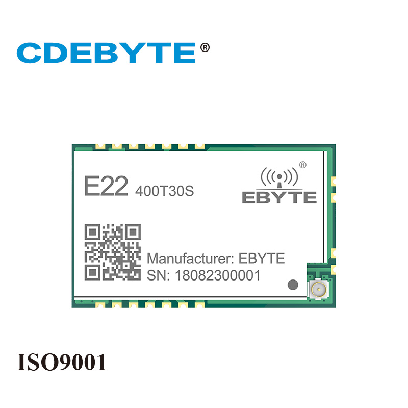 E22-400T30S 30dBm SMD UART SX1268 SX1262 Wireless Transmitter and Receiver SMD 1W 433 MHz RF Module RSSI Net Work Transceiver vacation