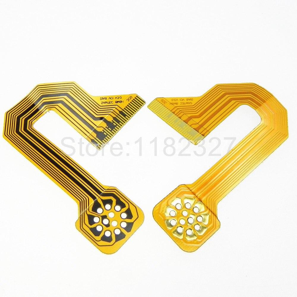 High Quality Flexible Flat Cable FPC Custom J type Samtec DIA8 VCI 8M8H gold plated flex