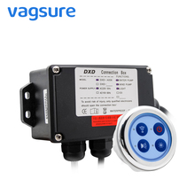 цена на Vagsure 6.5cm Bath Water Pump Control Panel Digital Controller Kit Wind Bottom Spa Combo Air Massage whirlpool Board For Bathtub