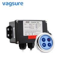 Vagsure 6.5cm Bath Water Pump Control Panel Digital Controller Kit Wind Bottom Spa Combo Air Massage whirlpool Board For Bathtub