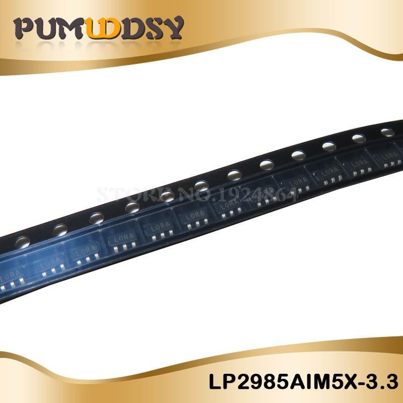 10PCS LP2985AIM5X-3.3 LP2985AIM5-3.3 LP2985 SOT23-5