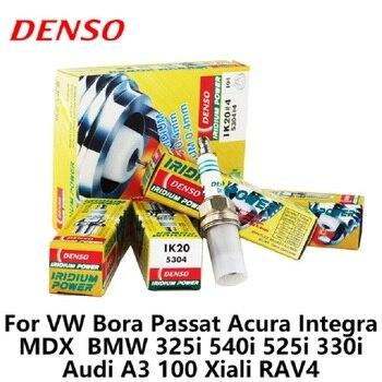 4 pcs/lot DENSO bougie d'allumage de voiture Iridium pour VW Bora Passat Acura Integra MDX BMW 325i 540i 525i 330i Audi A3 100 Xiali RAV4 IK20