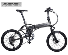 "FXSAGA 20"" inch Aluminum 18 speeds full suspension M355 Hydraulic disc brakes folding bike bicyle fold bicycle"