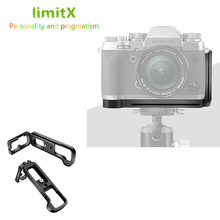 حامل ألواح L سريع الإصدار مع دعامة حامل ثلاثي القوائم لكاميرا Fuji Fujifilm Fuji X T2 XT2 لحامل الحامل ثلاثي القوائم السويسري لكاميرا Benro Arca