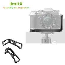 Quick Release L Plate Holder Hand Grip Statief Beugel Voor Fuji Fujifilm Fuji X T2 XT2 Camera Voor Benro Arca Swiss statief Hoofd