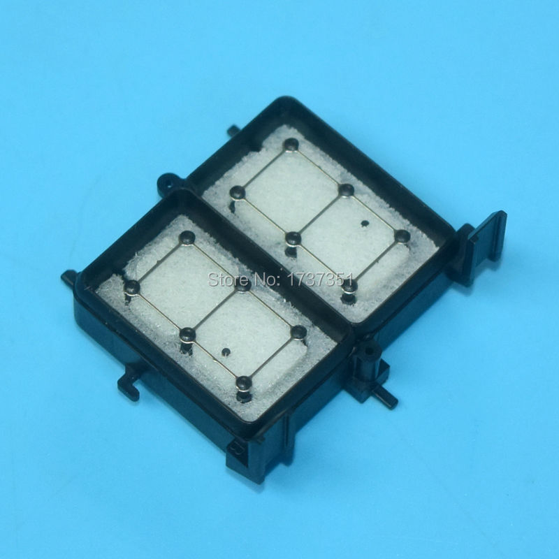 DX5 F158000 F152000 Printhead waste Ink cap pad for Epson R1800 R2400 R1900 R2000 dx 5 printer head capping top with new origina