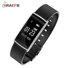 Hraefn N108 Smart Band Heart Rate Monitor Blood Pressure Wrist Watch Intelligent Bracelet Wristband Fitness Tracker Pedometer