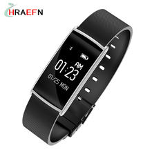 Hraefn N108 Smart Band Heart Rate Monitor Blood Pressure Wrist Watch Intelligent Bracelet Wristband Fitness Tracker Pedometer