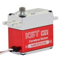 KST MS3509 7.4V 32kg 0.14 sec 360 degree Digital Metal Gear Servo Motor for Drone UAV Helicopter RC Car Boat Robot RC Toys