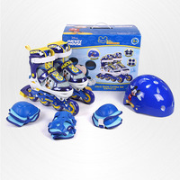 1 pair foot scooter High Quality Skate Roller Skating Shoes Free Style Skating Patins Ice Hockey ice skating shoes for Kids