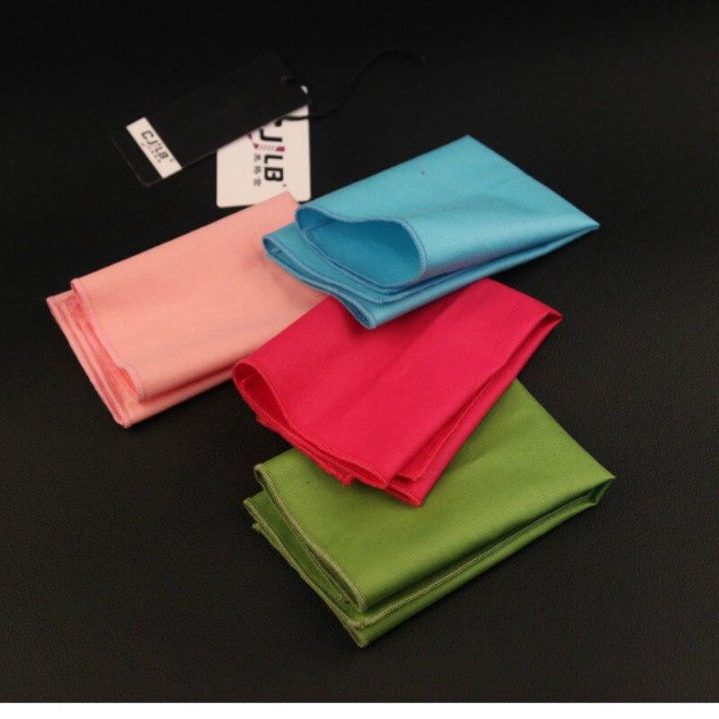 New Korean Fashion Designer High Quality  Mens  Business Wedding Cotton Solid Pocket Squares Handkerchiefs 23x23cm 10pcs/lot