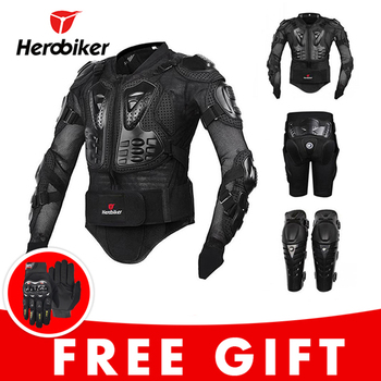 Motorcycle Jacket Riding Protection Armor Motorbike Motocross Equipment Racing Body Armor Moto Ptotective Gears Combination 1